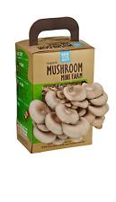 Back to the Roots Organic Mushroom Farm Grow Kit, Harvest Gourmet Oyster Mush...