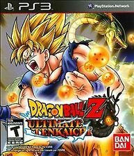 NEW Dragon Ball Z: Ultimate Tenkaichi  (Playstation 3, 2011) NTSC