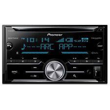 Pioneer FHX830 FH-X830BHS 2-Din CD Receiver w/ ARC App, Bluetooth, HD Radio & S