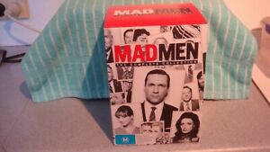 MAD MEN BOX SET DVD, SEASONS 1 TO 7, WATCHED ONCE, VERY GOOD CONDITION