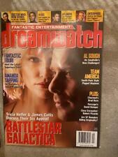 Dreamwatch 124 Battlestar Galactica Team America Stargate Sg-1 Smallville Space