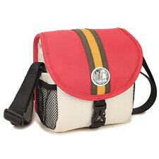 Caseman C13 small Mirrorless Digital Camera case shoulder waist bag bum pack Red