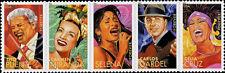 2011 44c Latin Music Legends, Strip of 5 Scott 4497-4501 Mint F/VF NH