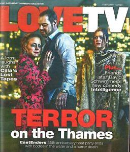 We Love TV Mag February 2020: EASTENDERS Cilla Black JO JOYNER David Baddiel