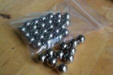 100 x 12mm (1/2 inch) ball bearings Pocket Shot ammo, catapult ammo slingshot