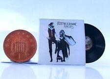 Miniature record ALBUM VINYL LP. 1/12th Fleetwood Mac-Rumours non Jouable