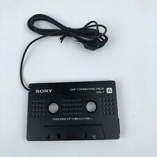 Sony Car Connecting Pack CPA-7 Cassette Head Jack Adapter Black