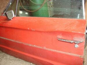 1965-66 FORD THUNDERBIRD DRIVER SIDE DOOR ELECTRIC COMPLETE