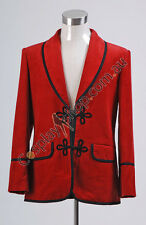 3rd Doctor Red Corduroy Jacket Costume
