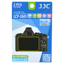JJC LCP-EM5 LCD Guard Film Camera Screen Display Protector for Olympus OM-D E-M5