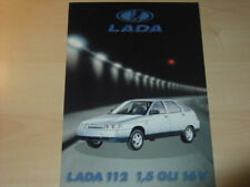 23519) Lada 112 Schweiz Prospekt 199?