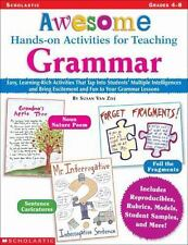 Awesome Hands-on Activities For Teaching Grammar by Susan Van Zile