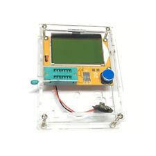 LCR-T4 Mega428 Backlit Component Tester ESR Meter Kit LCD Display With Case
