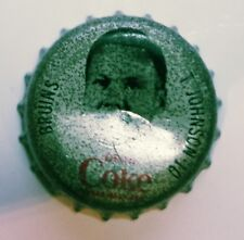 Coke cap hockey ( T . JOHNSON 10 ) BRUINS