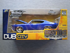 Jada Toys DUB City Big Time Muscle 1:24 scale 1969 Chevy Chevelle SS - NEW
