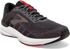 Brooks Men's Ravenna 10 Running Shoe, Ebony/Black/Red, 8.5 D(M) Us