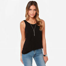 Hot Fashion sexy Women Backless Back Deep V Neck Casual Slim Shirt Top Blouse