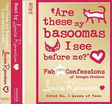 Are These My Basoomas I See Before Me? 4 CDs Louise Rennison Georgia Nicholson