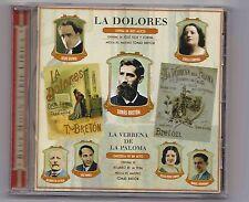 La Dolores, La Verbena de la Paloma on CD – rare zarzuela recordings