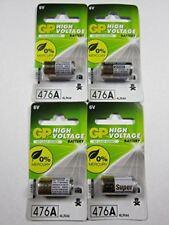 GP 4x 4LR44 476A 4G13 SR1154 4SR44 476AF-2C1 6v Alkaline Battery Batteries - NEW