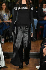 **VETEMENTS** Glossed Leather Maxi Skirt **MOST WANTED NEW DESIGNER**