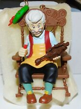 Boxed Disney Grolier Christmas Tree Ornament - Pinocchio's Geppetto