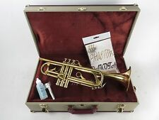 Phaeton PHT-2020 Bb Trumpet Reverse Leadpipe in Gold Lacquer with Case [105134]