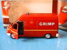 Citroen Jumpy vehicule Radio Medicalise 2007 medecin 13 Solido Pompier I 1/43