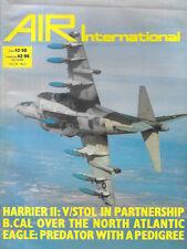 Air International V26 N3 Harrier AV-8B V/STOL Fighter de Havilland D H 84 F-15