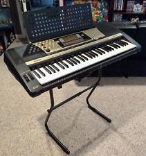 Yamaha Portatone Psr-740 Keyboard, Stand, Power Supply, Owner's Manual, Pristine