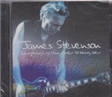 New CD - James Stevenson - Everything's Getting Closer To Being Over