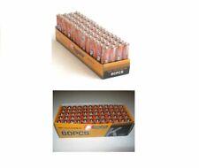 120 pack 60 Aa & 60 Aaa Batteries Medium Duty 1.5v Wholesale Lot New Fresh