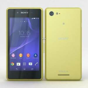 Brand new Sony XPERIA E3 - 4GB - Lime Unlocked Android Cheap Smartphone UK SELL
