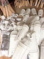 Mens MSR Cricket Batting Gloves LH  Pad Combinations & Bag - Premier Elite