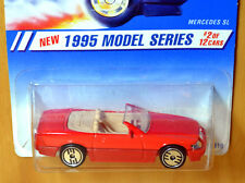 Hot Wheels Mercedes SL 500 Convertible [Red/UH] - New/Sealed/Rare