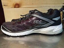 New Mens Black Fila Cool Max Size 11.5 Sneakers