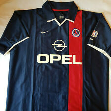 211490b5fbc Paris Saint Germain PSG Home Football Shirt 2001-2002 (XL Extra Large) USED