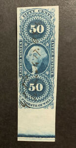TDStamps: US Revenue Stamps Scott#R62a Used Lightly Crease
