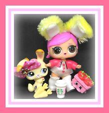 ❤️LOL Surprise Doll Series 2 Wave 1 HOPS Big Sister Tot BUNNY 2-027 LPS Pet❤️
