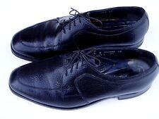 Men's Florsheim 9D Black Pebble Grain Oxford Dress Shoes
