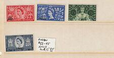 Oman #52-55 MLH  CV $15.25
