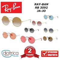 RAY-BAN RB 3592 JA JO Occhiali da Sole RAYBAN ROTONDI Tondi UOMO DONNA 50 55