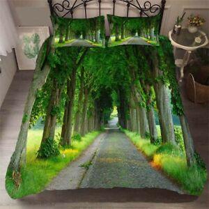 Binding Power Tree 3D Printing Duvet Quilt Doona Covers Pillow Case Bedding Sets