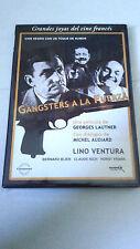 "DVD ""GANGSTERS A LA FUERZA"" LINO VENTURA MICHEL AUDIARD GEORGES LAUTNER"