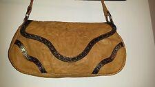 JUNIOR DRAKE Tan Leather Handbag, $398