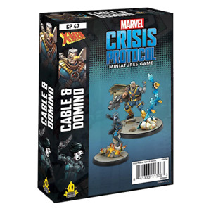 PREORDER Marvel Crisis Protocol Miniatures Game Cable and Domino