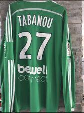 maillot foot de l'AS SAINT-ETIENNE (porté N.27 TABANOU) saison 2013-14