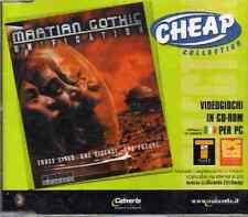 MARTIAN GOThIC UNIFICATION avventura  -ITALIANO-pc cd rom SIGILLATO