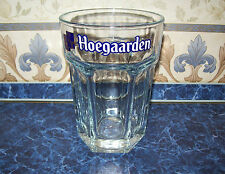 "Exclusive Belgium Huge heavy a thick glass of beer ""HOEGAARDEN"" Original."