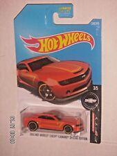 HOT WHEELS 2017  246/365  2013 Hot Wheels Chevy Camaro Special Edition  50TH ANN